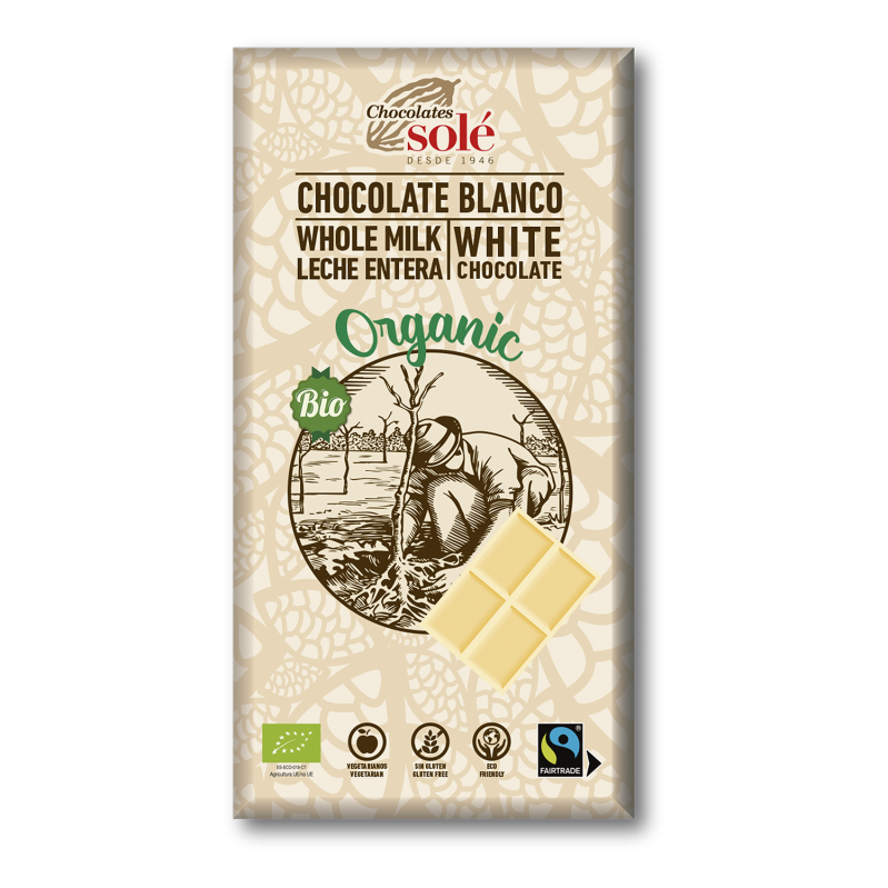 Chocolate Blanco 100g BIO