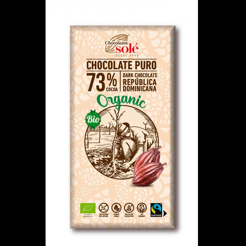 Dark Chocolate BIO 73% Cocoa 100 g