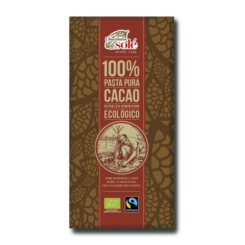 Cacao  100% 100g BIO