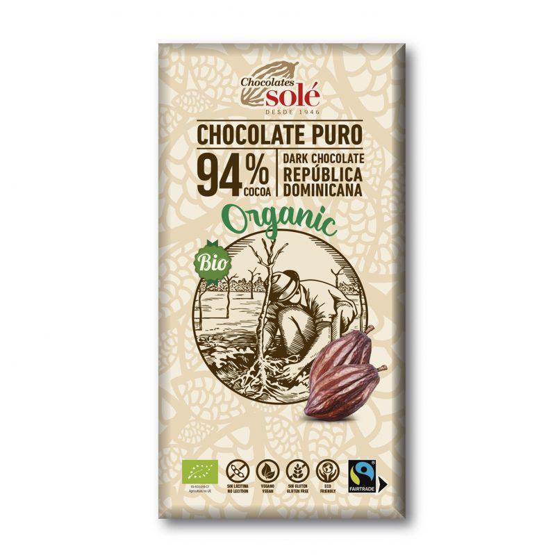 Dark Chocolate BIO 94% Cocoa 100 g