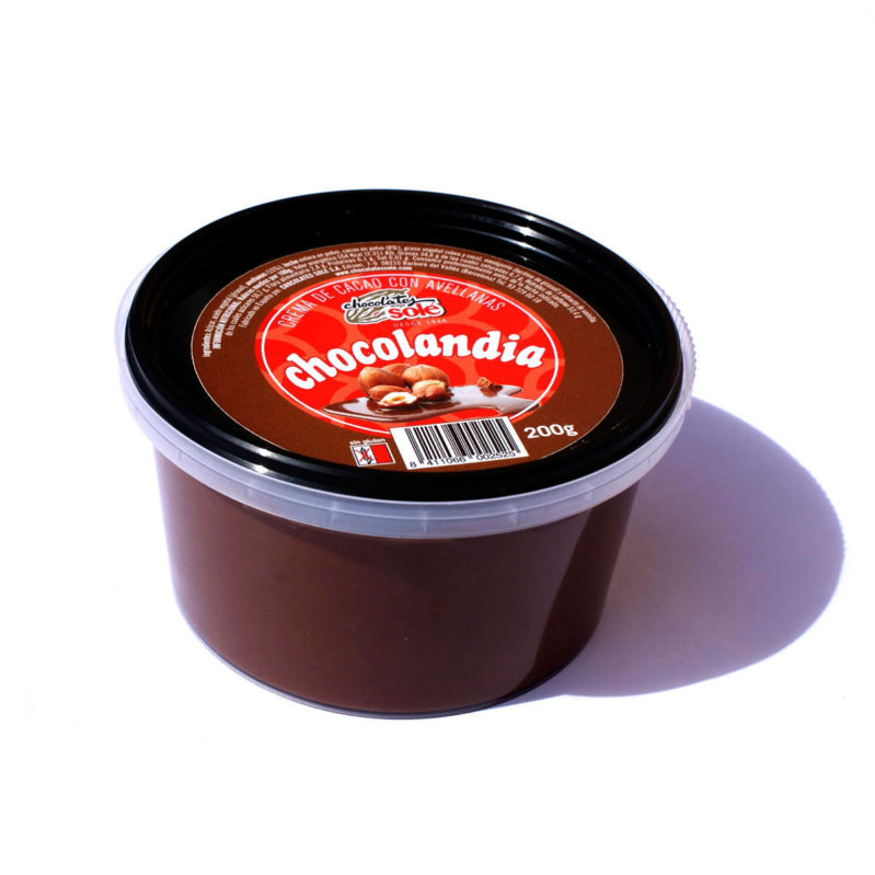 Chocolandia Crema de Cacau Untable 200g - Sense Oli de Palma