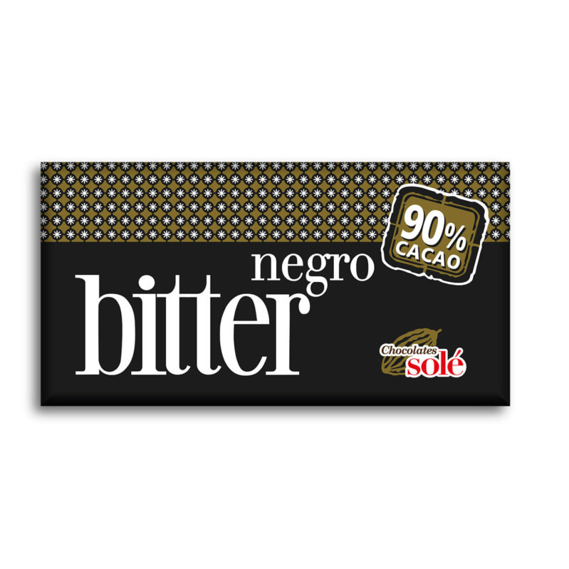 Bitter Chocolate 90% Cocoa 100 g