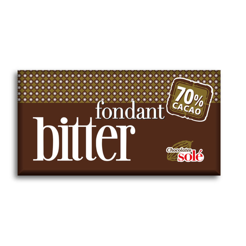 Bitter Chocolate 70% Cocoa 100 g