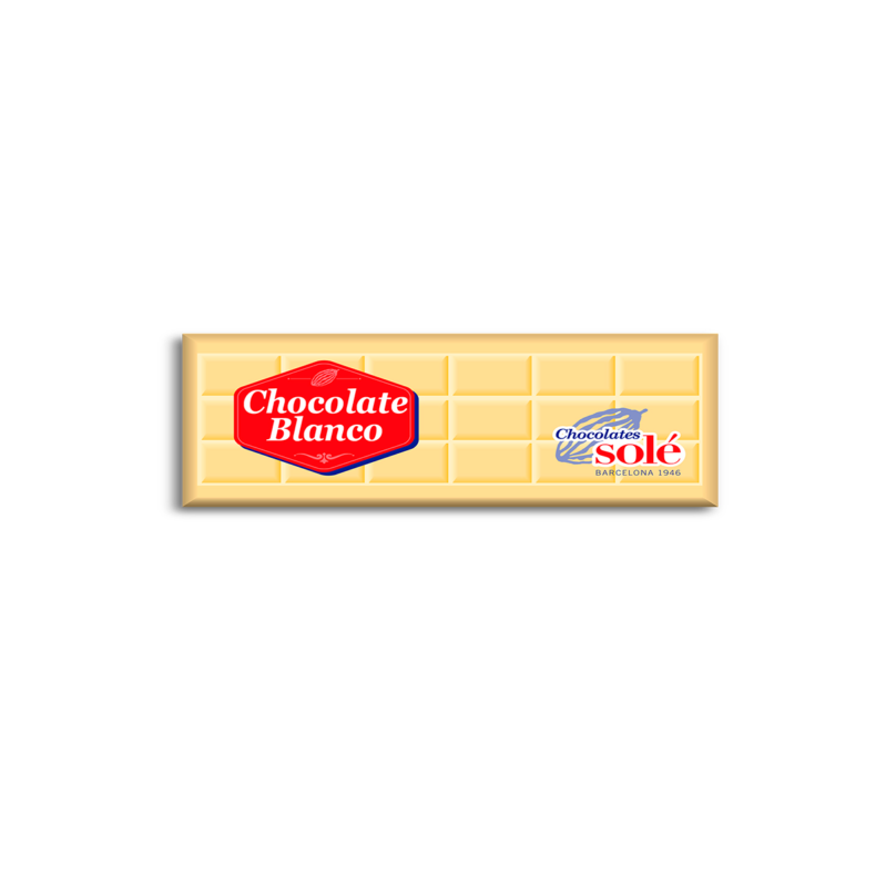 Xocolata blanca 25g