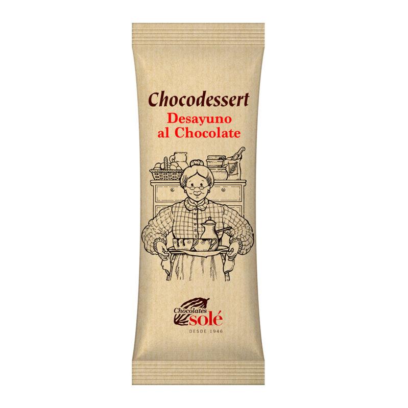 Polvo de Chocolate negro 200g chocodessert