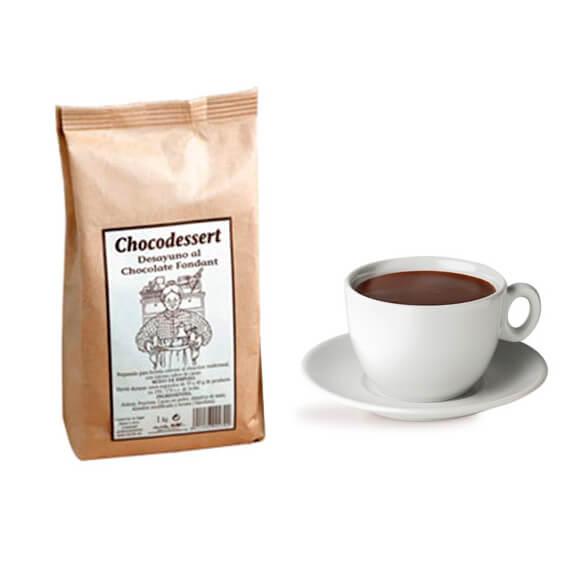 Polvo de Chocolate negro 1Kg chocodesert